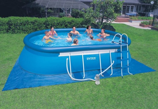Les types de piscines gonflables
