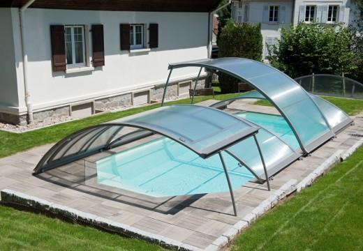 Les abris piscine relevables