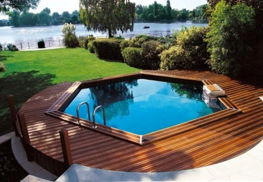 Fermeture de la piscine hors-sol