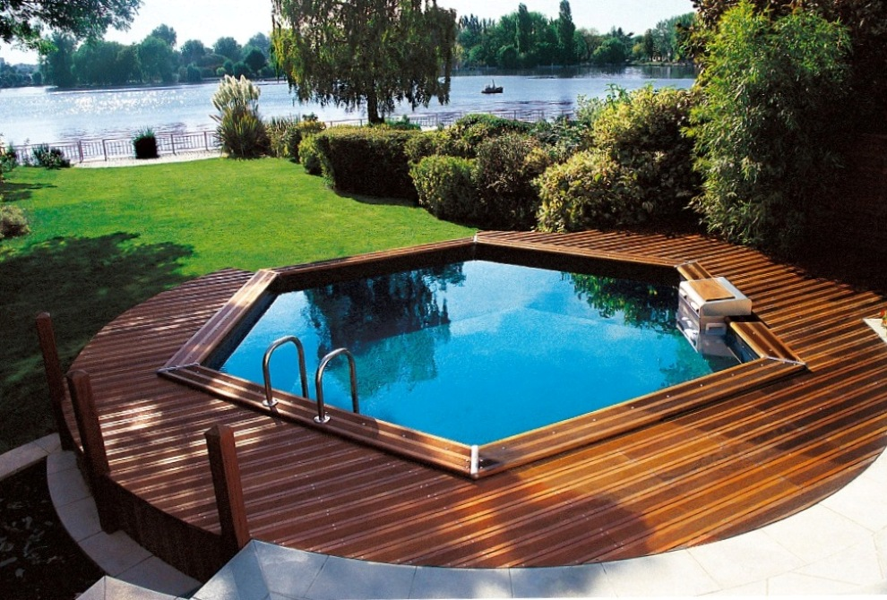 Fermeture de la piscine hors sol guide piscine house for Piscine encastrable bois